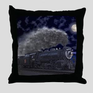 Night Run Throw Pillow