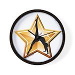 Gymnastics Clock - Star