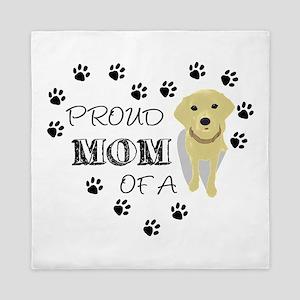 Proud mom of a Pup Queen Duvet