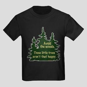 Happy Trees Kids Dark T-Shirt