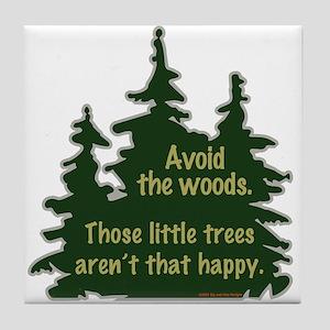 Happy Trees Tile Coaster
