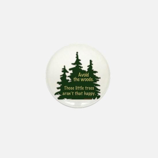 Happy Trees Mini Button