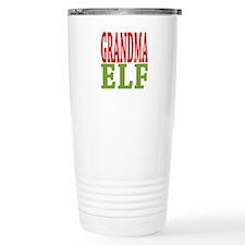 Grandma Elf 16 oz Stainless Steel Travel Mug