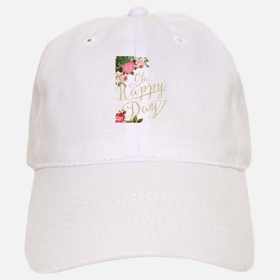 Oh Happy Day Baseball Baseball Cap