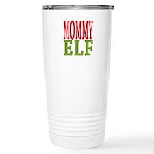 Mommy Elf 16 oz Stainless Steel Travel Mug