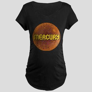 Planet Mecury Maternity Dark T-Shirt