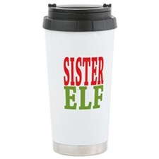 Sister Elf 16 oz Stainless Steel Travel Mug