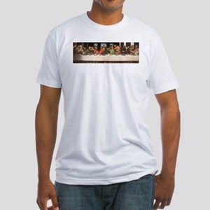 Davinci's Last Supper Fitted T-Shirt