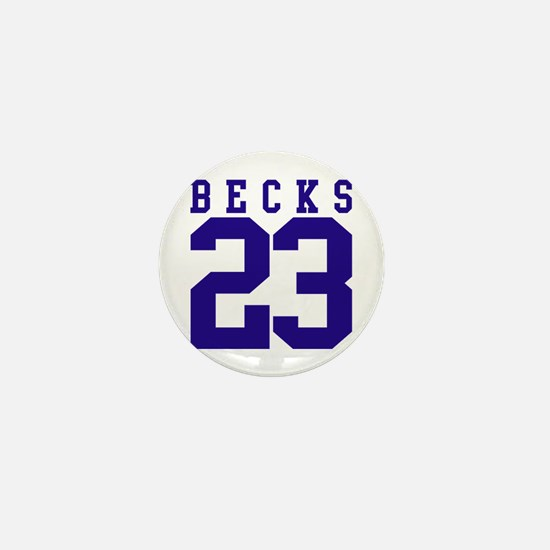 BECKS 23 Mini Button
