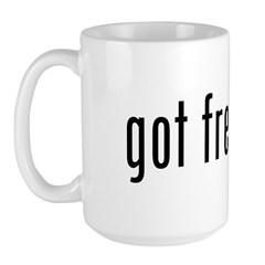 got freedom? Large Mug