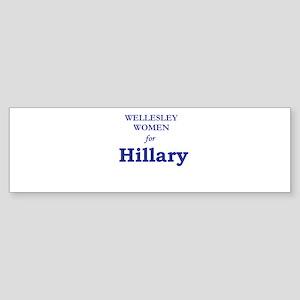 Wellesley4Hil Bumper Sticker