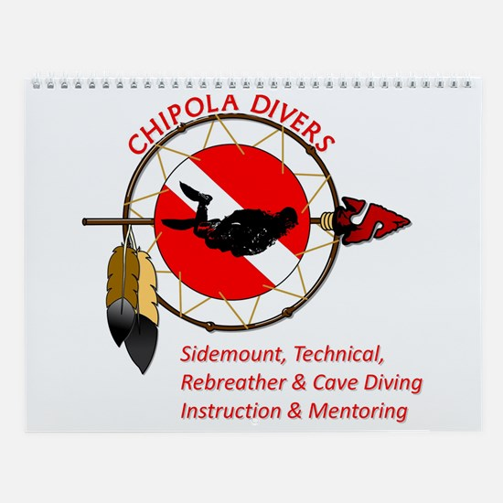Chipola Divers Wall Calendar