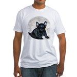 Cairn Terrier Fitted T-Shirt