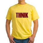 THNIK Yellow T-Shirt