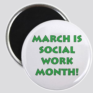 March is Social Work Month Magnet