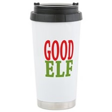 Good Elf 16 oz Stainless Steel Travel Mug