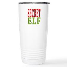 Secret Elf 16 oz Stainless Steel Travel Mug
