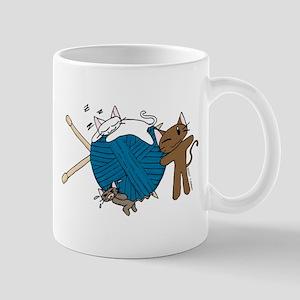 Cat Knit Mug
