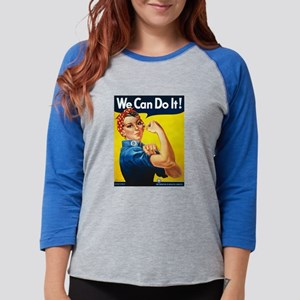Vintage Rosie the Riveter Long Sleeve T-Shirt