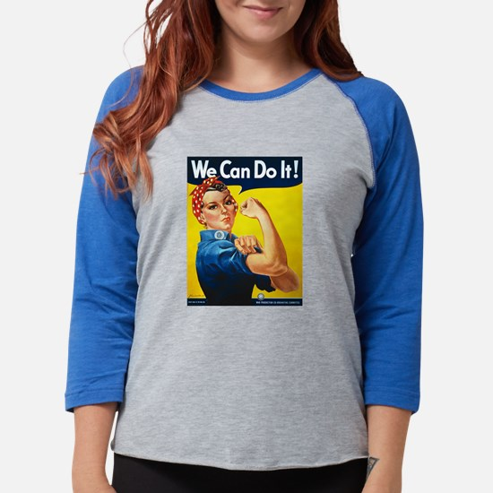 Vintage Rosie the Riveter Long Sleeve T-Shirt
