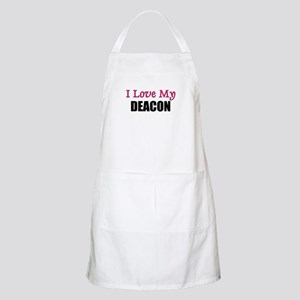 I Love My DEACON BBQ Apron