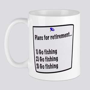 Retirement Plans (fishing) Mug