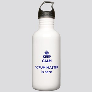 Keep calm scrum master Stainless Water Bottle 1.0L