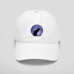Cat & Moon Cap