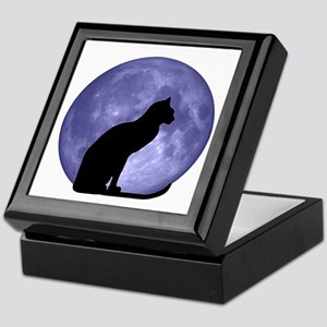 Cat & Moon Keepsake Box