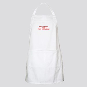 Bill Clinton for First Gentleman-Cle red 500 Apron