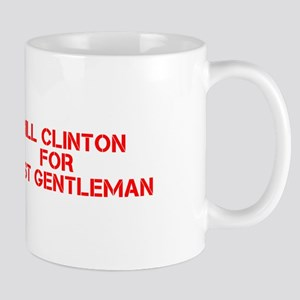 Bill Clinton for First Gentleman-Cle red 500 Mugs
