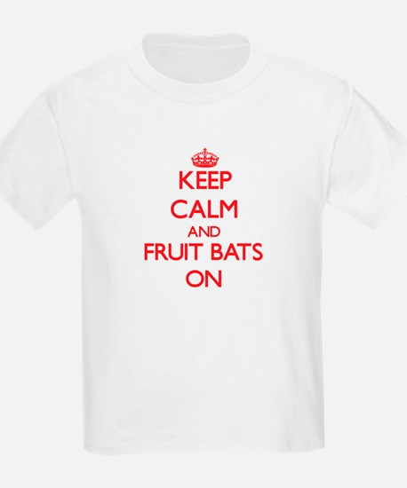 Keep Calm and Fruit Bats ON T-Shirt