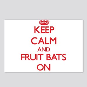 Keep Calm and Fruit Bats Postcards (Package of 8)