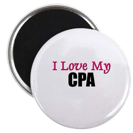 I Love My CPA Magnet