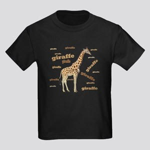 Giraffe Kids Dark T-Shirt