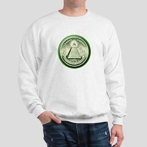 The Great Seal - Pyramid Eye Sweatshirt