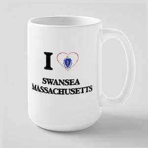 I love Swansea Massachusetts Mugs