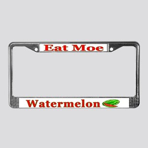 Watermelon License Plate Frame