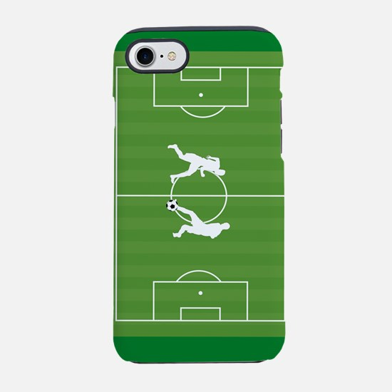Soccer players on field iPhone 7 Tough Case