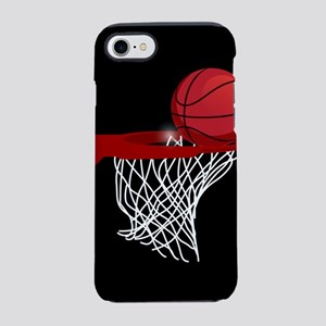 Basketball hoop and ball iPhone 7 Tough Case