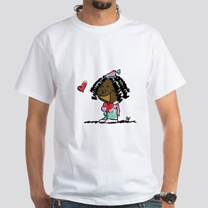 Hip Hoppin Couple White T-Shirt