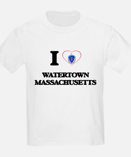 I love Watertown Massachusetts T-Shirt