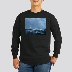 USCG Ingham Long Sleeve Dark T-Shirt