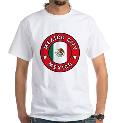 Mexico City White T-Shirt