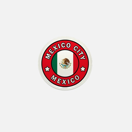 Mexico City Mini Button