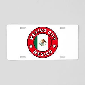 Mexico City Aluminum License Plate