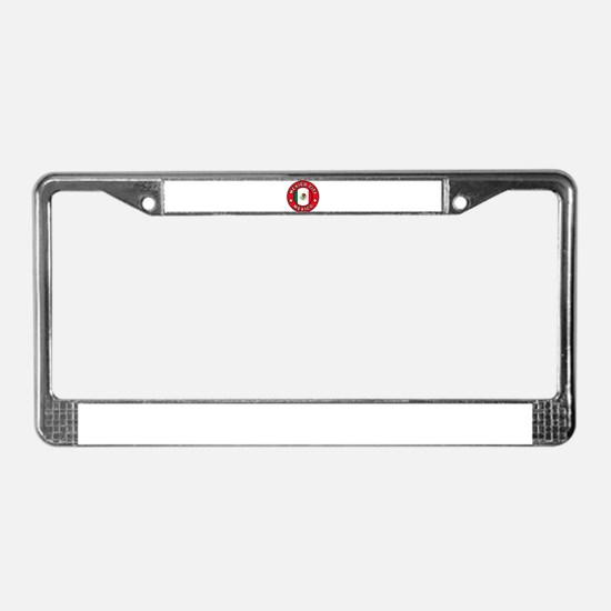 Mexico City License Plate Frame