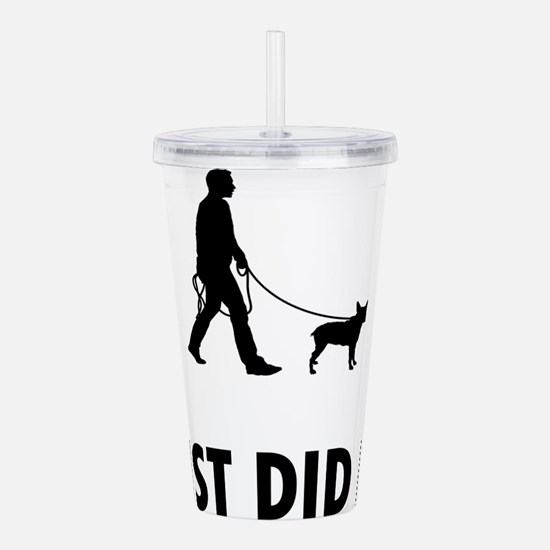 Stumpy Tail Cattle Dog Acrylic Double-wall Tumbler