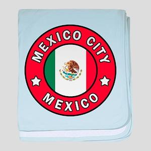Mexico City baby blanket