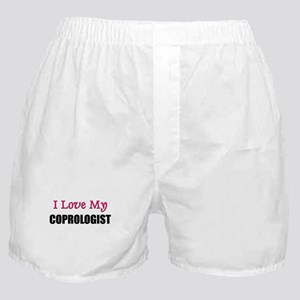 I Love My COPROLOGIST Boxer Shorts